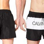 Bañador Calvin Klein Short Drawstring para hombre barato en Amazon