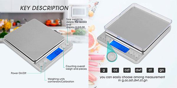 Báscula digital Mafiti MK200 para cocina barata