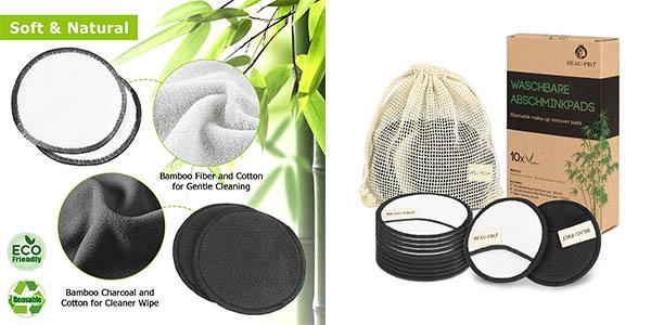 Beau-Pro toallitas desmaquillantes reutilizables baratas