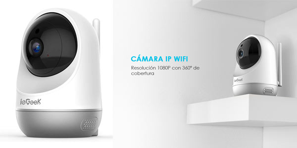 Cámara ip WiFi IeGeek barata en Amazon