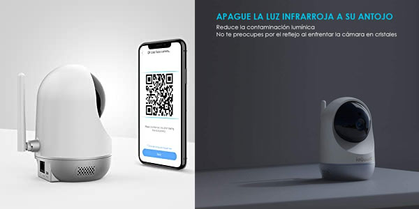 Cámara ip WiFi IeGeek en oferta en Amazon