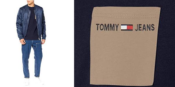 Camiseta de manga corta Tommy Hilfiger TJM Contrast Pocket tee chollo en Amazon