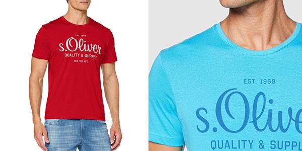 Camisetas S.Oliver para hombre baratas en Amazon