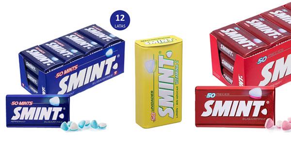 Pack 12 latas caramelos Smint a buen precio en Amazon