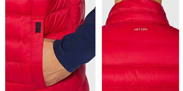 Chaleco HKT by Hackett Lightweight down filled en oferta en Amazon