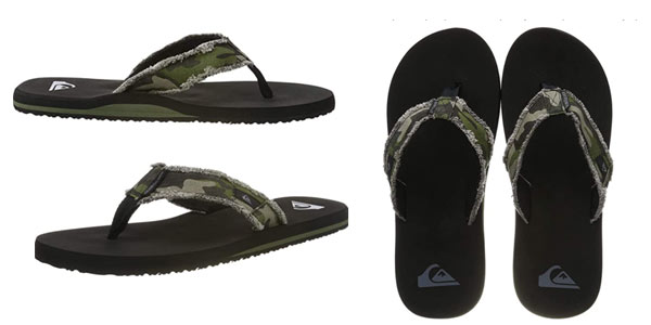 Chanclas Quiksilver Monkey Abyss baratas en Amazon