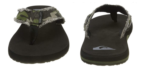 Chanclas Quiksilver Monkey Abyss en oferta en Amazon