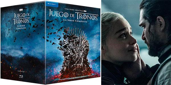 Chollo Colección completa Juego de Tronos Temporadas 1-8 en Blu-ray