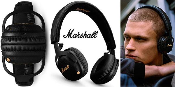 Chollo Auriculares Hi-Fi Marshall Mid ANC con Bluetooth y cancelación de ruido activa