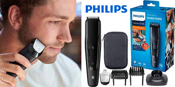 Chollo Barbero Philips BT5515/15 con recortador de precisión