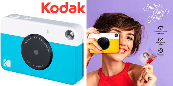 Chollo Cámara de impresión instantánea Kodak Printomatic