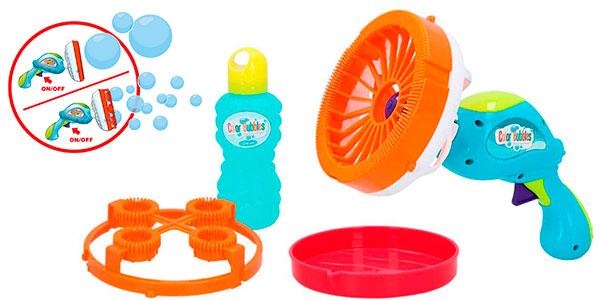 Chollo Pistola lanzapompas de jabón Color Bubbles