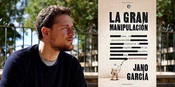 """Chollo Libro """"La gran manipulación: Cómo la desinformación convirtió a España en el paraíso del coronavirus"""" en versión Kindle"""
