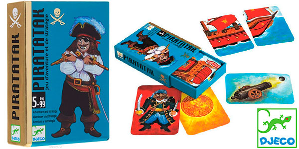 Chollo Juego de cartas Pirataka