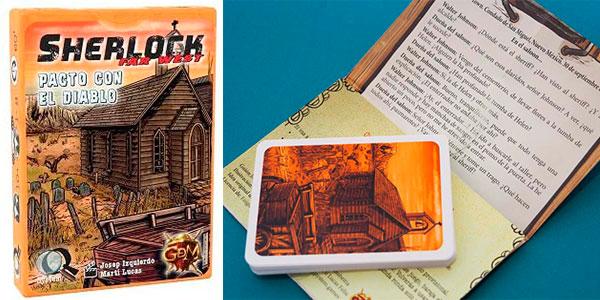 Chollo Juego de cartas Sherlock Far West: Pacto con el Diablo