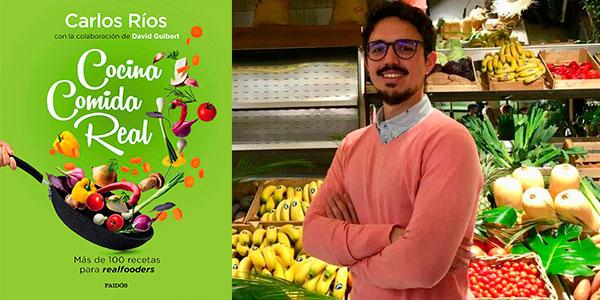 """Chollo Libro """"Cocina comida real: Más de 100 recetas para realfooders"""" versión Kindle"""