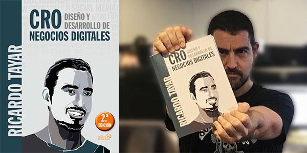 """Chollo Libro """"CRO. Diseño y Desarrollo de negocios digitales"""" de Ricardo Tayar en versión Kindle"""