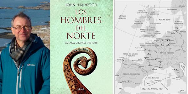 """Chollo Libro """"Los hombres del Norte: La saga vikinga (793-1241)"""" en versión Kindle"""