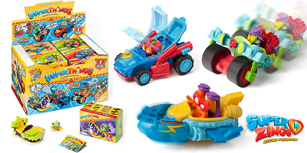 Chollo Pack Superthings 6 con 8 Spyjets (colección completa)