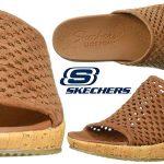 Chollo Sandalias Skechers Beverlee-Golden Sky para mujer