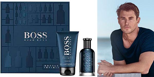 Chollo Estuche de regalo Boss Bottled Infinite de Hugo Boss (Eau de parfum de 50 ml + gel de 100 ml)