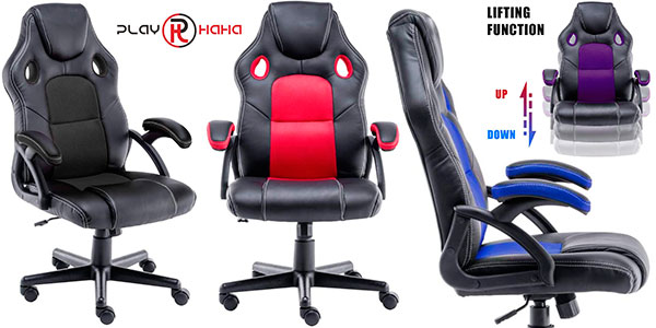 Chollo Silla gaming Play Haha en varios modelos