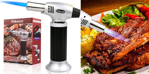Chollo Soplete encendedor de cocina recargable