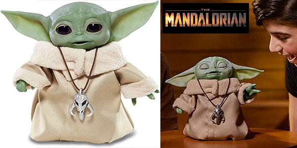 Chollo Figura animátronica Baby Yoda de The Mandalorian