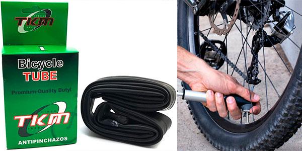 Chollo Cámara TKM antipinchazos para bicicleta