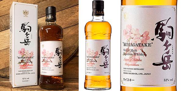 Chollo Whisky Mars Kohiganzakura Nature Of Shinshu de 700 ml
