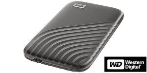 Disco WD My Passport SSD 1TB portátil ultrarrápido