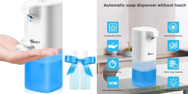 Dispensador de jabón infrarrojos Skey barato en Amazon