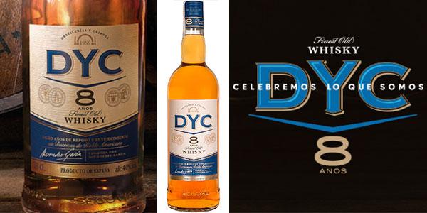 Chollo Whisky DYC 8 Años de un litro