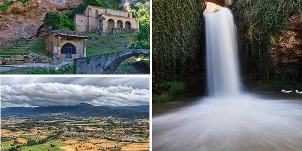 escapada y ruta a la Cascada de Pedrosa de Tobalina con alojamientos baratos