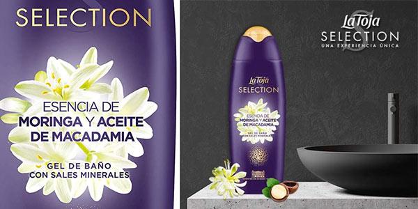 Gel de baño La Toja Selection Moringa y aceite de Macadamia barato en Amazon
