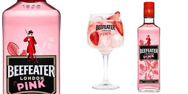 Ginebra Rosa Beefeater Pink Premium de 700 ml barata en Amazon