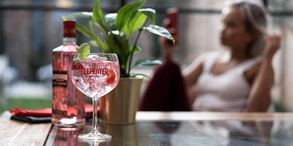 Ginebra Rosa Beefeater Pink Premium de 700 ml chollo en Amazon