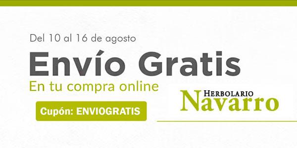 Herbolario Navarro con cupón descuento ENVIOGRATIS