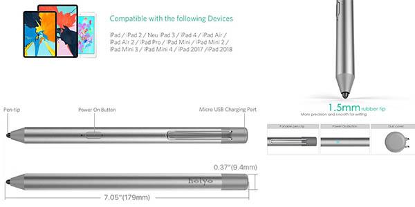 iPad Stylus lápiz relación calidad-precio alta