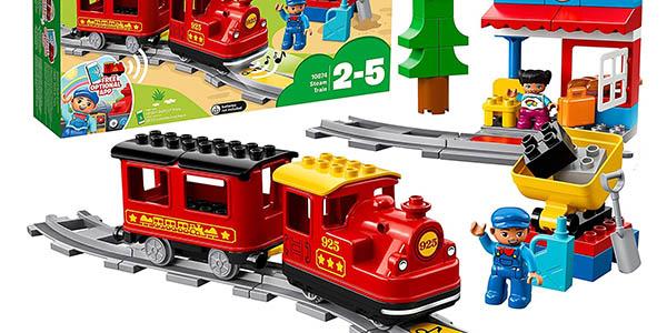 juego de construcción tren a vapor infantil LEGO Duplo Train oferta