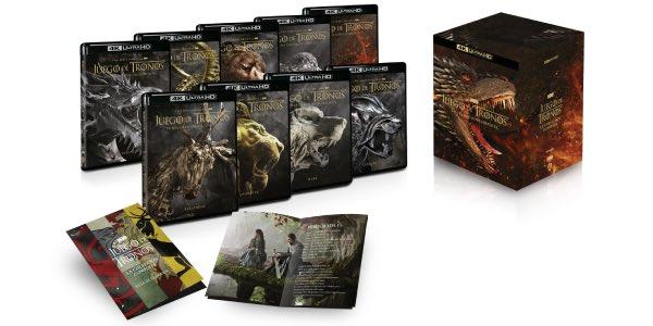 Colección completa Juego de Tronos en Blu-ray 4K