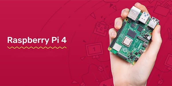 Kit Raspberry Pi 4 Model B de 4 GB con carcasa y SD de 32 GB en Amazon