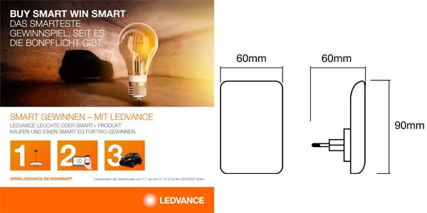 Lamparilla luz nocturna Ledvance de 0,8 W de potencia chollo en Amazon
