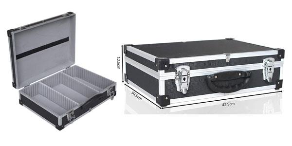 Maletín de aluminio para herramientas y equipos técnicos barato en Amazon
