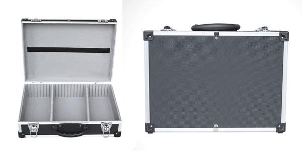 Maletín de aluminio para herramientas y equipos técnicos en oferta en Amazon