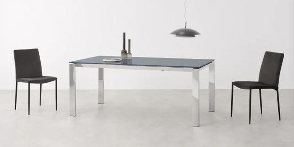Mesa de comedor extensible Cranham para 6 - 10 personas barata en Made