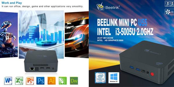 Mini PC Beelink U55 en oferta en Amazon