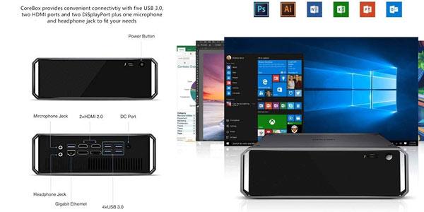 Mini PC Chuwi Corebox en oferta en Amazon