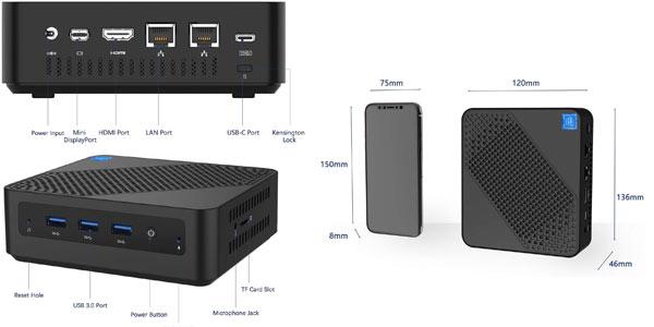 Mini Pc Minisforum U700 en oferta en Amazon