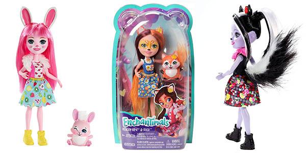 muñecas Enchantimals con mascota baratas